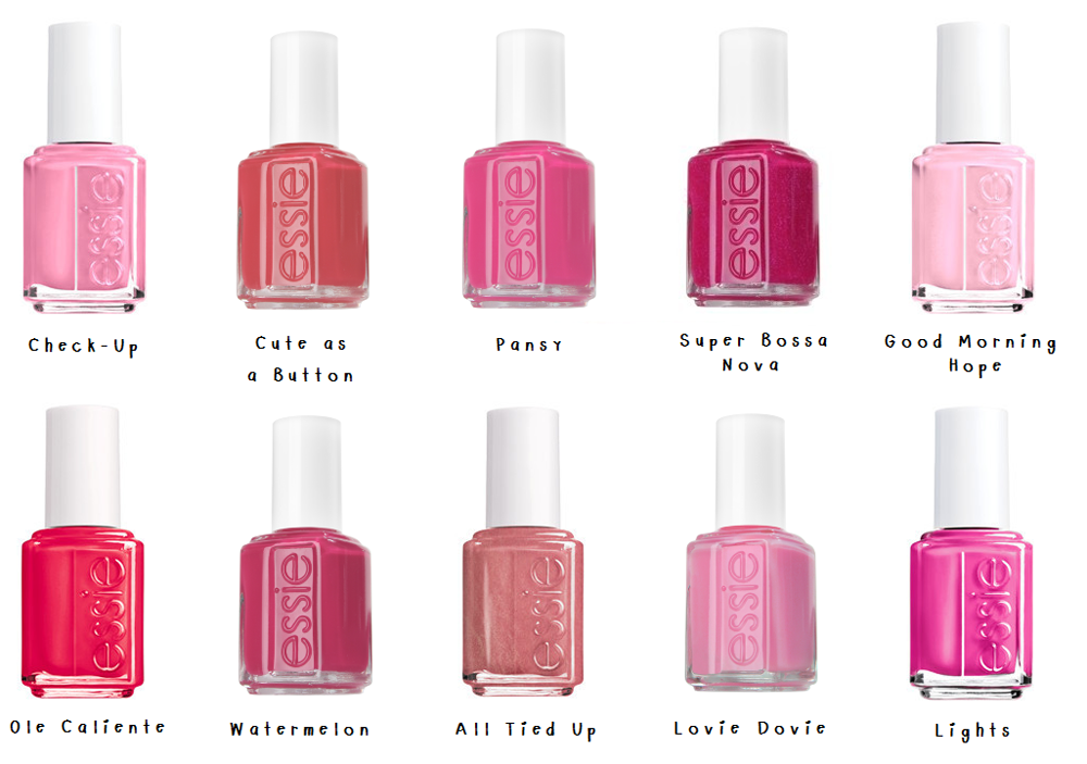 best-essie-pinks